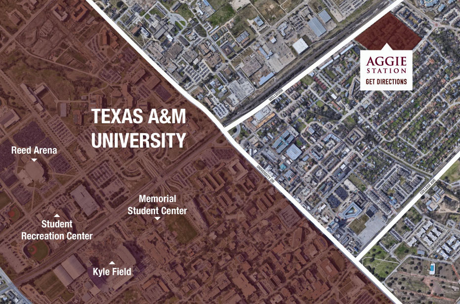 College Station Map Of Texas.Aggie Station 2 3 4 Br Apartments Near Texas A M