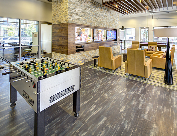 Game room at U Centre at Northgate
