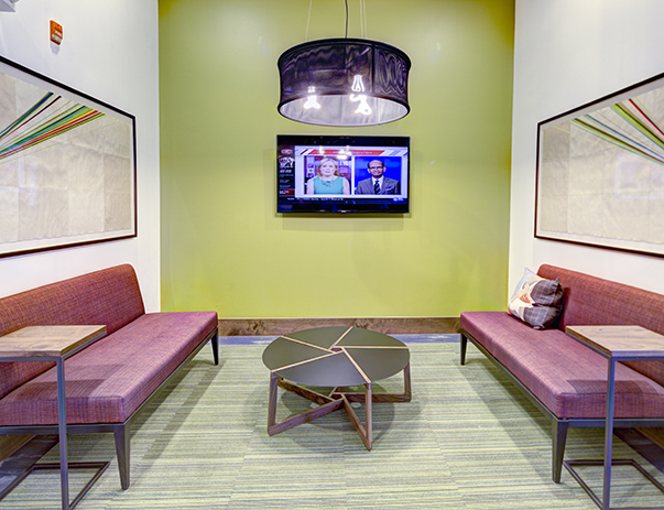 TV lounge at U Centre at Northgate