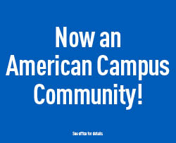 Now an American Campus Community!