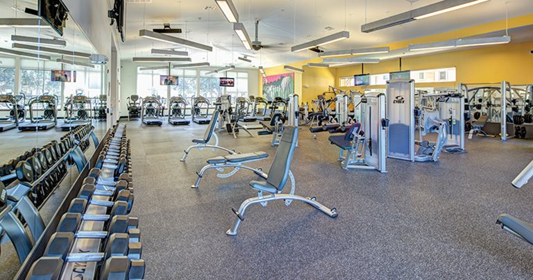 Fitness center at U Centre at Northgate