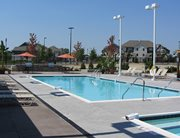 Swimming pool and sundeck at Park Point