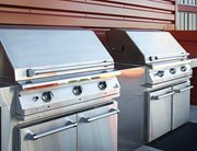 Professional BBQ grills at TWELVE at U District near the University of Washington