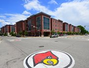 Exterior view of Cardinal Towne near the University of Louisville