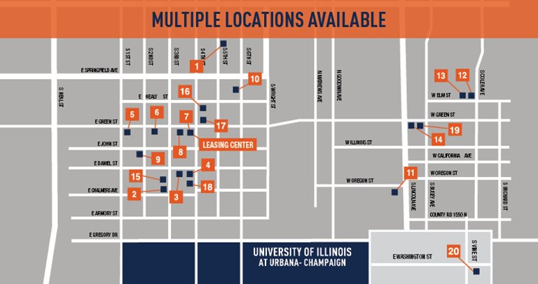 Campustown Rentals - Student Housing - Champaign, IL