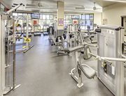 24-hour fitness center with cardio equipment & strength machines at Casas del Rio