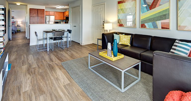 Upgraded model at University Pointe in Lubbock, TX near Texas Tech University