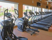 Fitness center at Vista del Sol & Villas at Vista del Sol