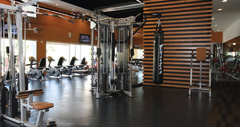 Fitness center at Vista del Sol near Arizona State University