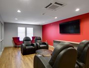 Study lounge at Cardinal Towne