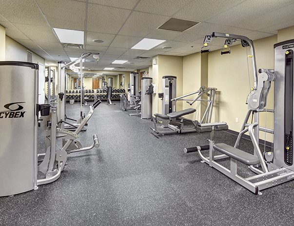 Fitness Center at Chauncey Square near the Purdue University.