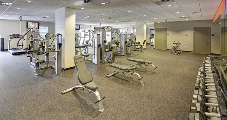 Fitness center at 2nd Avenue Centre near The University of Florida