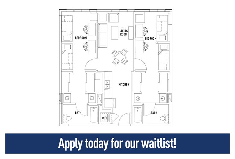 Floor Plans The Summit At University City Student