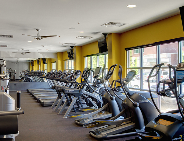 Fitness center at Cardinal Towne