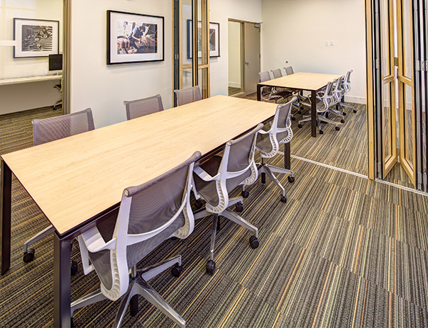 Conference room at Lakeside Graduate Housing