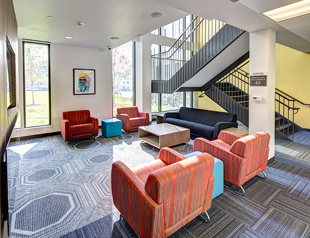 Lounge area at Honors Academic Village