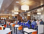 Urban Eatery dining hall at The Summit at University City