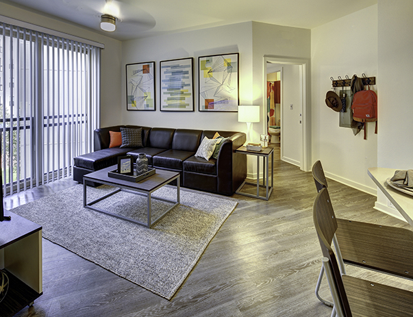 Living Room at Callaway House Apartments