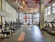 Fitness center at TWELVE at U District near the University of Washington