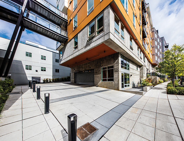 Exterior view of ELEVEN at U District near the University of Washington