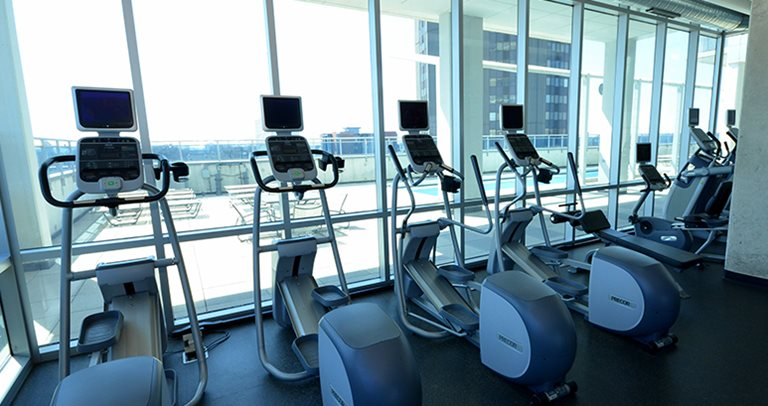 Fitness center at 309 Green