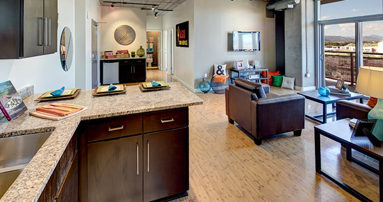 Fully equipped kitchen at 922 Place near Arizona State University