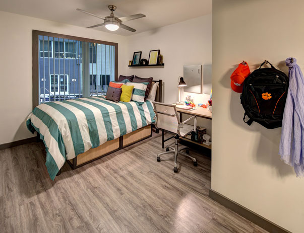 Fully furnished, private bedroom at U Centre on College