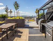 Rooftop courtyard at ELEVEN at U District near the University of Washington