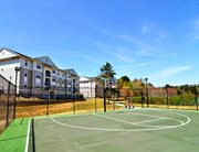 Basketball court at Independence Place Apartments