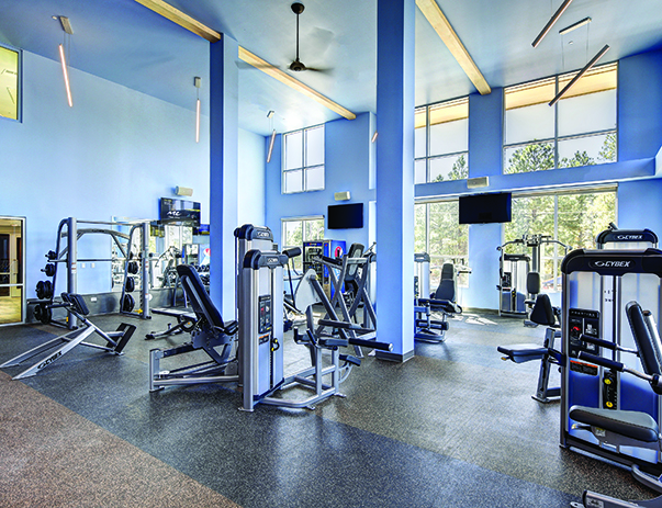 Fitness Center at Skyview