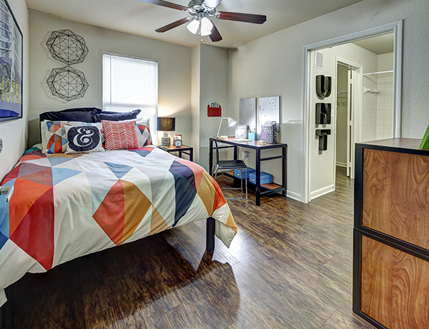 Private Bedroom At Uptown Apartments In Denton Tx Near The University Of 1