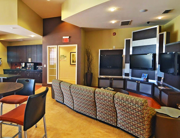 Clubhouse at Independence Place Apartments