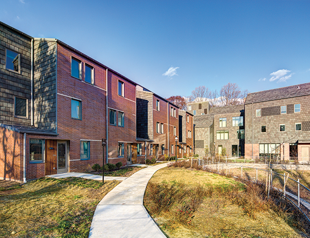Exterior view of Lakeside Graduate Housing