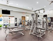 Fitness center at University Commons