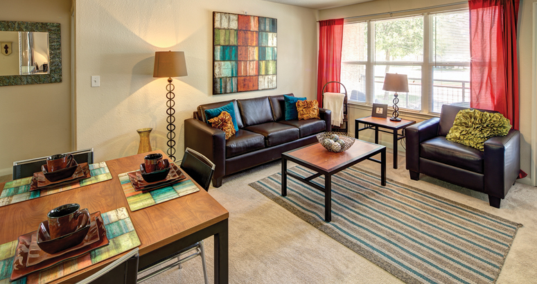 Fully Furnished Apartment At Uptown Apartments In Denton, TX Near The  University Of North Texas Swimming Pool And ...