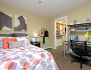 Fully furnished, private bedroom at Cardinal Towne