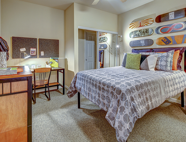 Fully furnished, private bedroom at Callaway Villas