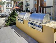 Professional BBQ Grills at Plaza on University