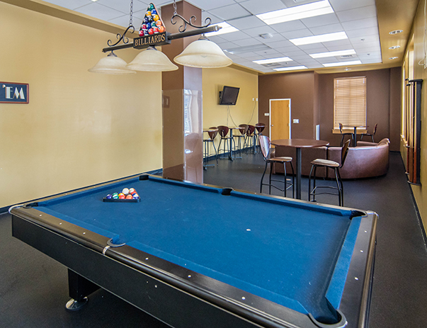 Game room at Morgan View