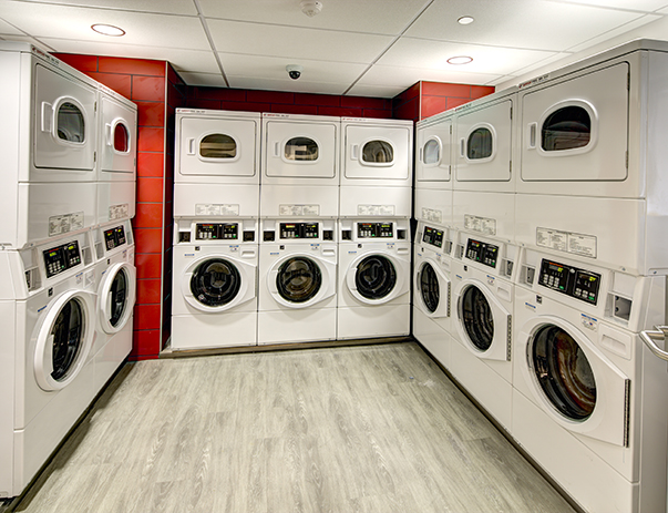 Laundry facility at Honors Academic Village