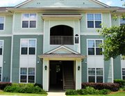 Exterior view of Independence Place Apartments near Fort Benning