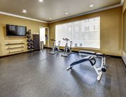Fitness center at Olde Towne University Square.