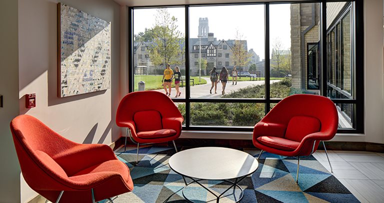 Study lounge at Honors Academic Village