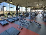 Fitness center at The Callaway House Austin