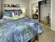 Spacious bedroom at U Pointe on Speight