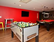 Game room at Cardinal Towne