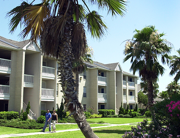 Exterior view of Miramar  near Texas A&M University - Corpus Christi
