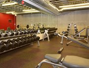 Fitness center at Campustown