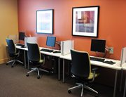 Computer Center with PCs at Independence Place Apartments