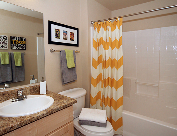 Private bathroom at Vista del Sol & Villas at Vista del Sol